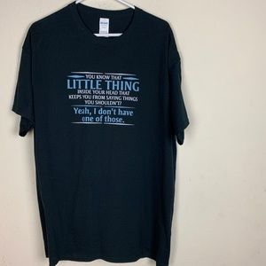Other - Little Thing Black T-Shirt size X-Large
